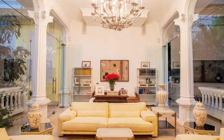 Sala mansión Cartagena Colombia