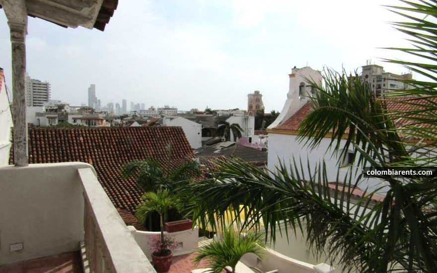 Terraza Casa Centro Cartagena
