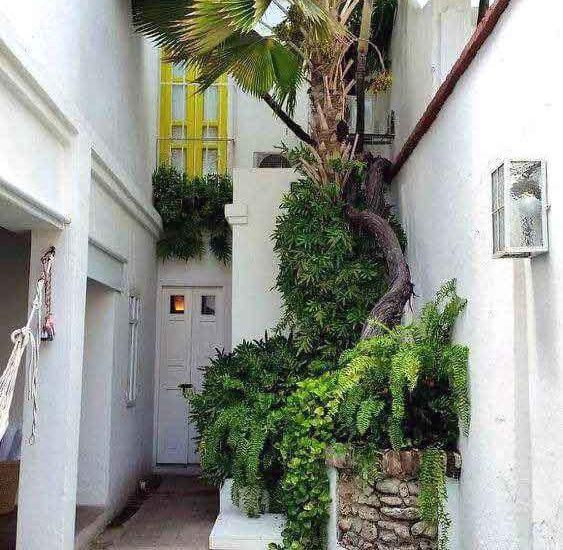Fachada Casa Colonial Cartagena de Indias