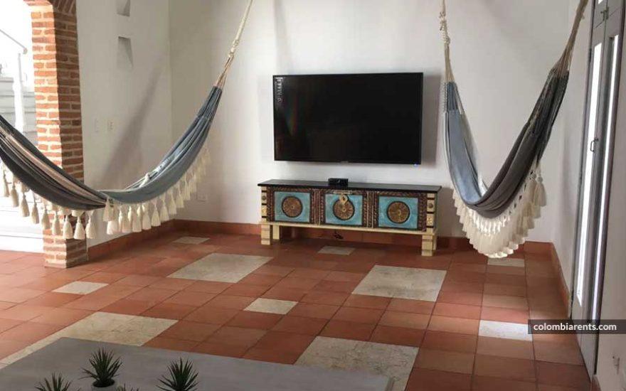 Balcón Casa Ciudad Amurallada Cartagena Colombia