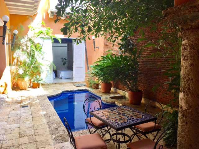 Casa Colonial de lujo en Cartagena