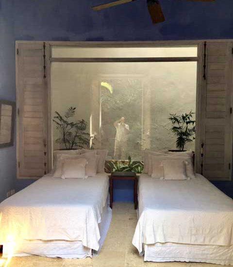 Entrada Casa de lujo en Cartagena de Indias