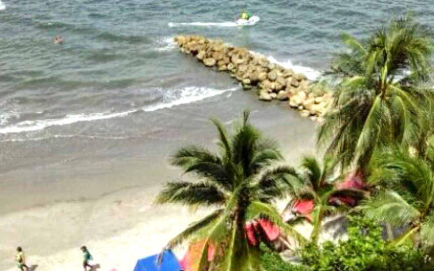 Playa El Laguito Cartagena de Indias