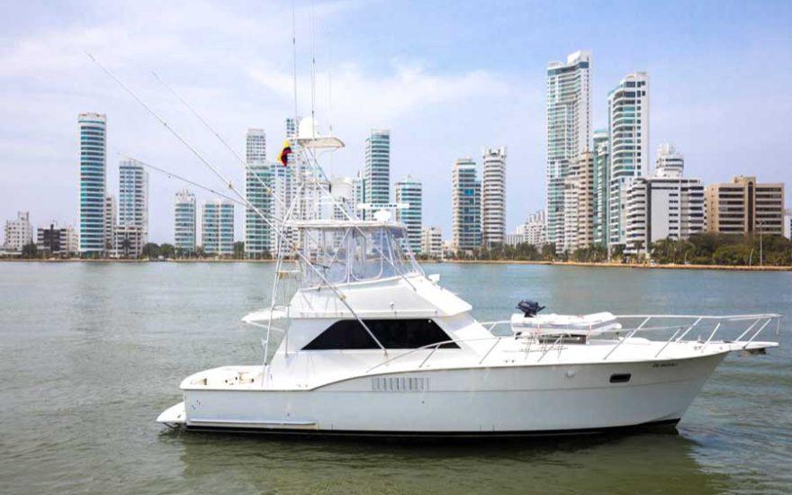 Barco de Pesca en Cartagena de Indias