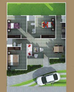 Casa sobre planos venta en Cartagena