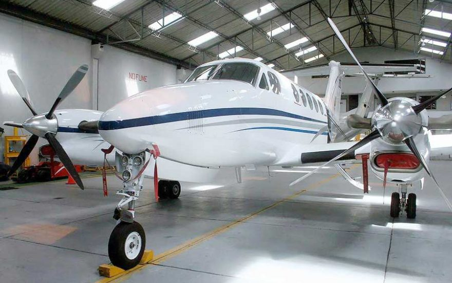 Avioneta clase ejecutiva Colombia