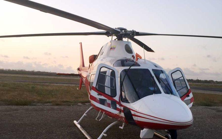 Helicóptero en Colombia