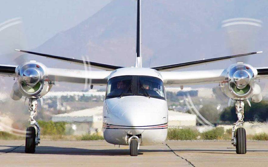 Avion en Colombia
