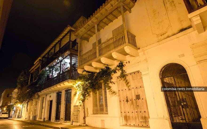 Fachada Casa Ciudad Amurallada Cartagena