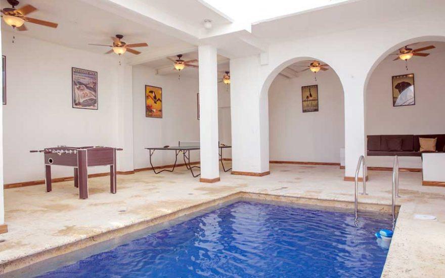 Casa Colonial con balcones Cartagena