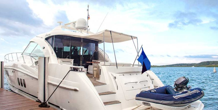 Exclusive yacht in Cartagena de Indias