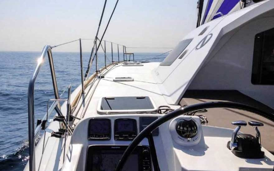 Catamaran for rent Cartagena