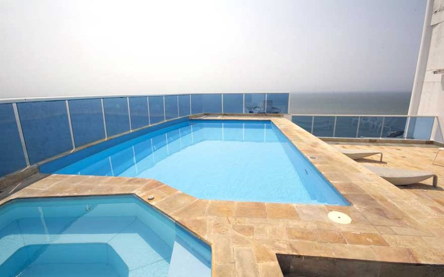 Piscina Privada Penthouse Cartagena de Indias