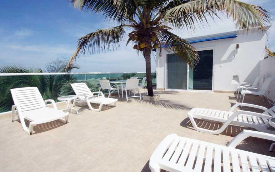 Casa Frente a la Playa Cartagena