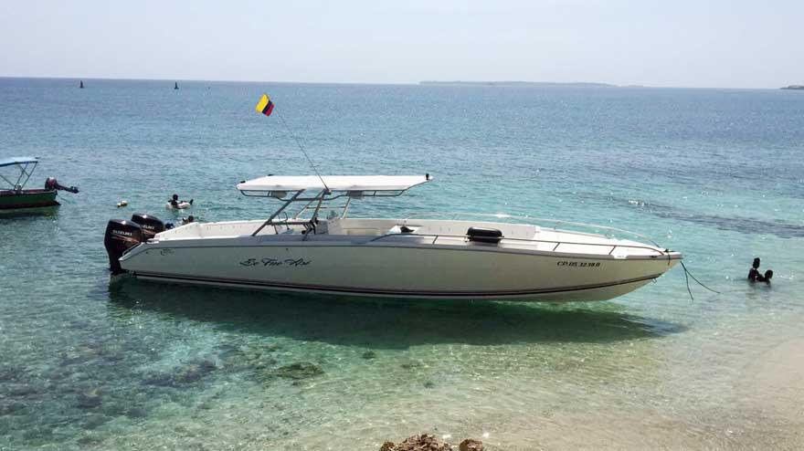 Boat Rental Cartagena Colombia 017