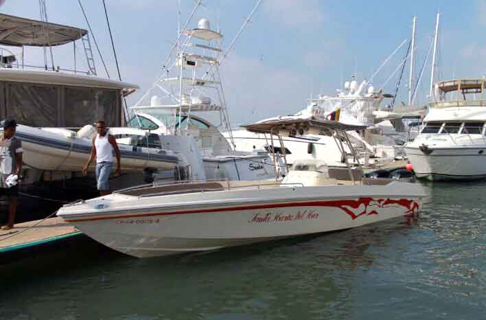 Boat Rental Cartagena Colombia 004