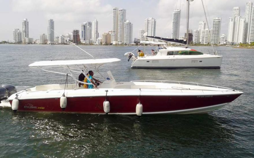 Boat Rental Cartagena Colombia 008