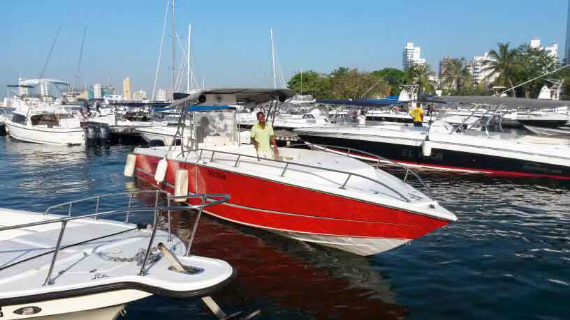 Boat Rental in Cartagena 009