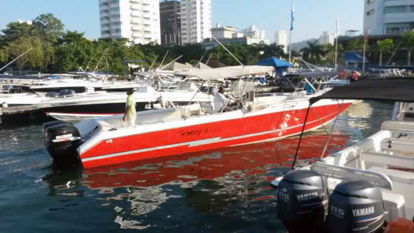 Boat Rental in Cartagena 009