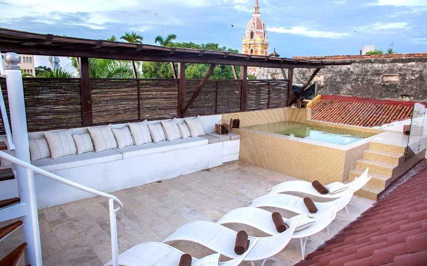 Habitación Mansión Cartagena Colombia