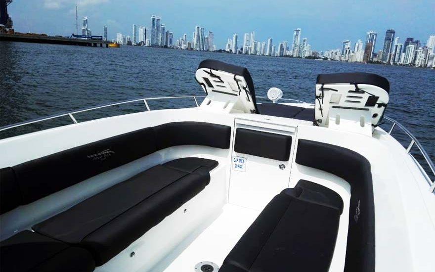Bote Cartagena Colombia