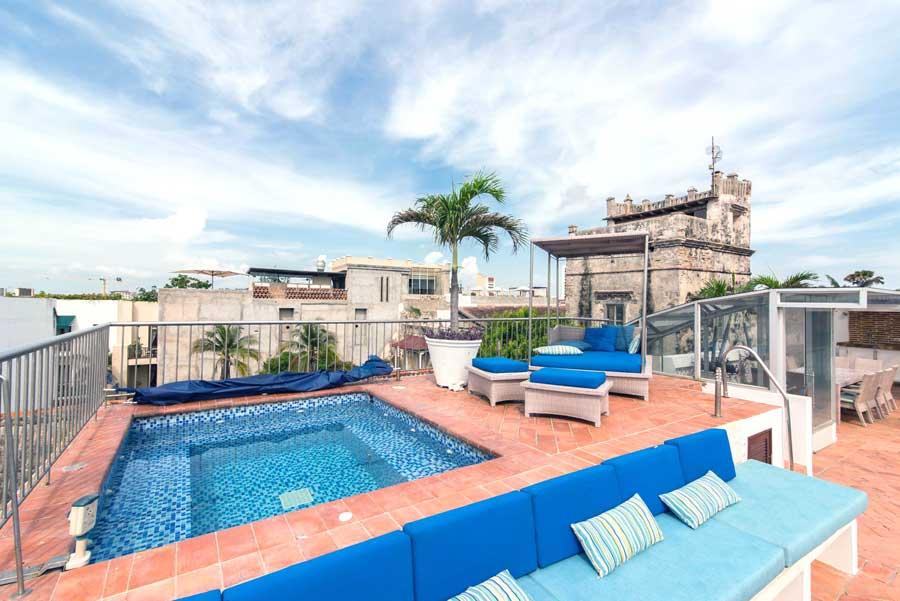 Casa del Virrey Eslava Apartment  010