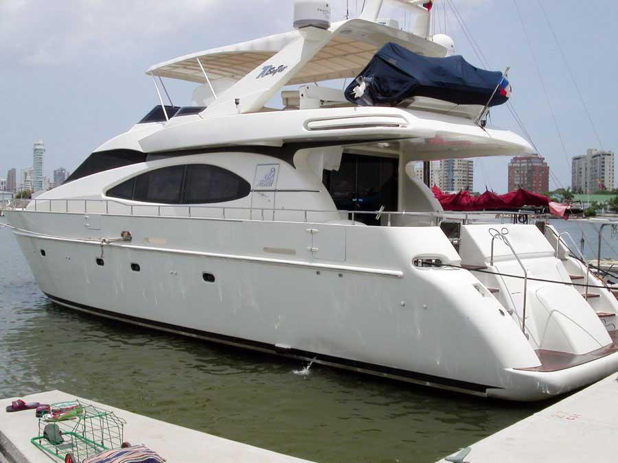 Yacht Azimut 70 | Cartagena de Indias