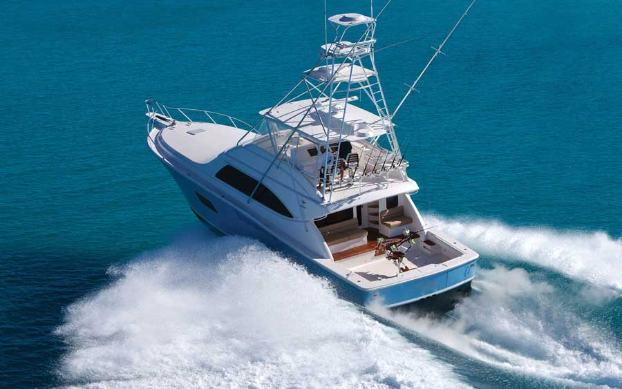 Fishing boat 001 | Bertram 64