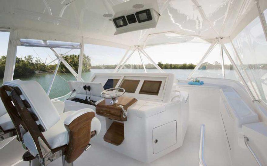 Fishing boat 001 | Bertram 64
