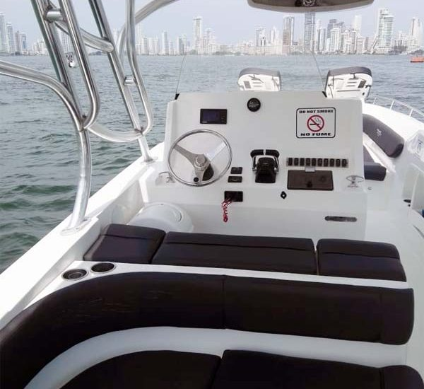 Boat Rental Cartagena Colombia 021