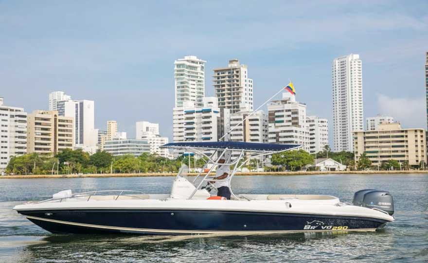 Boat Rental Cartagena Colombia 022