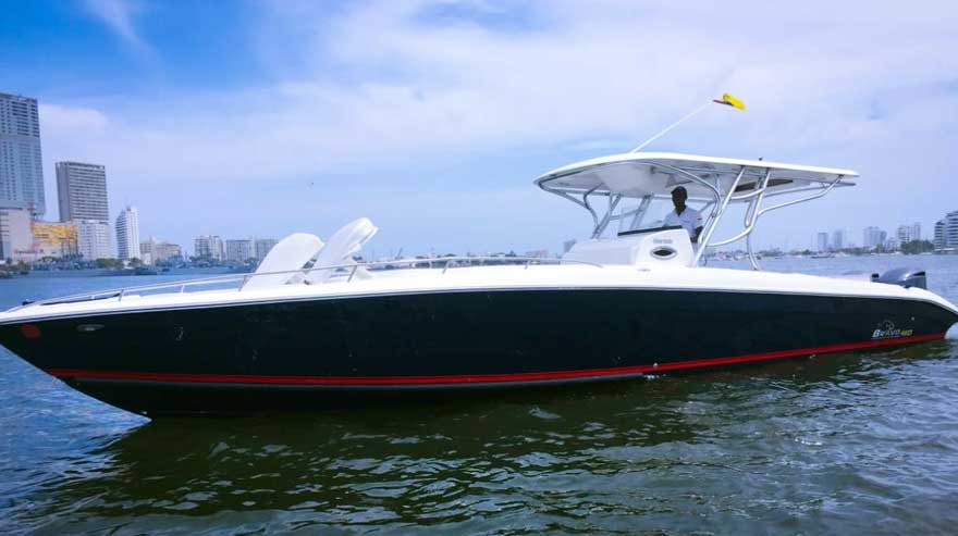 Boat Rental Cartagena Colombia 020