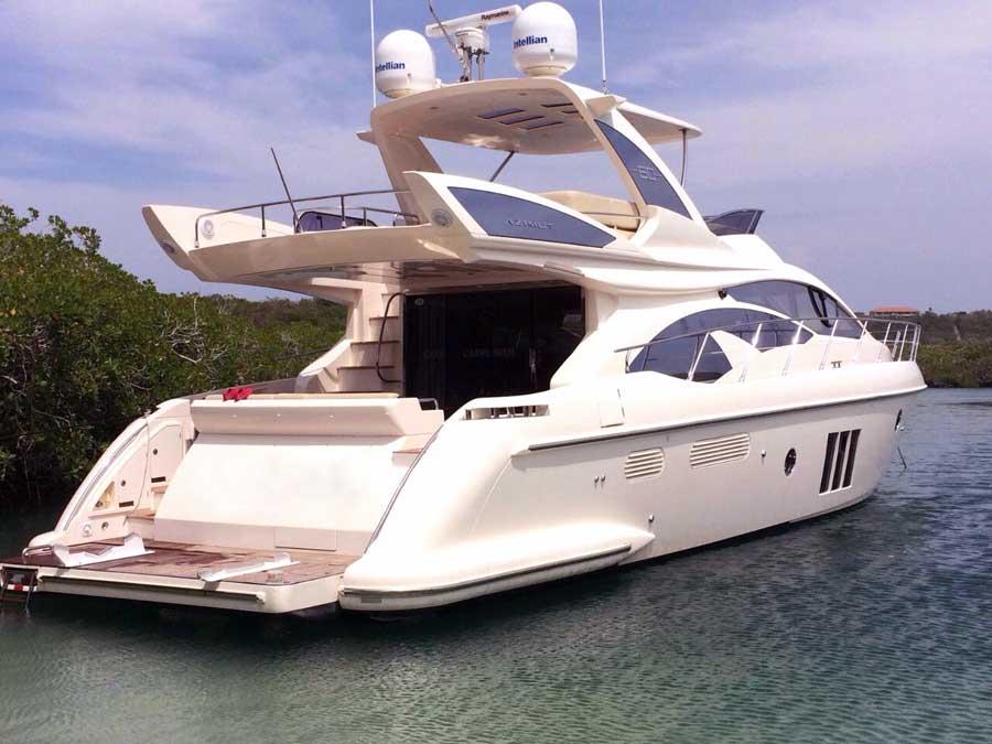 Yacht Azimut Cartagena 013