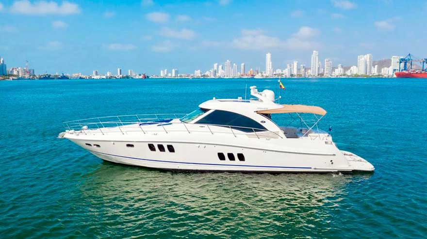 Yate Sea Ray Cartagena de Indias