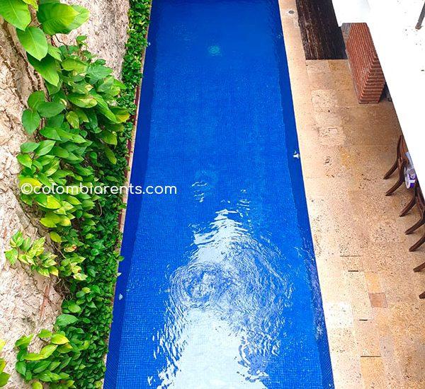 Vista Sala Comedor Casa de lujo en Cartagena