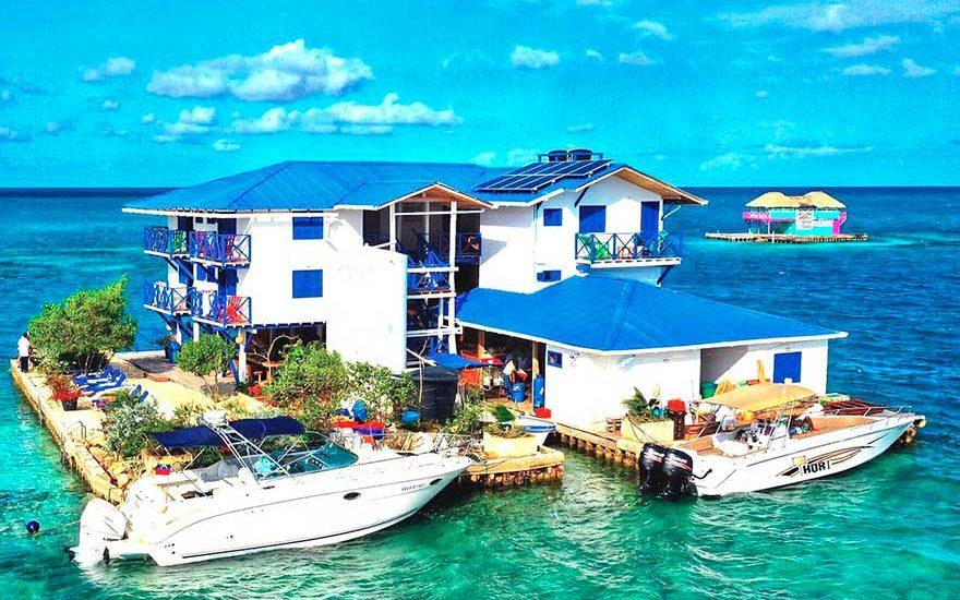 Isla Privada con Piscina