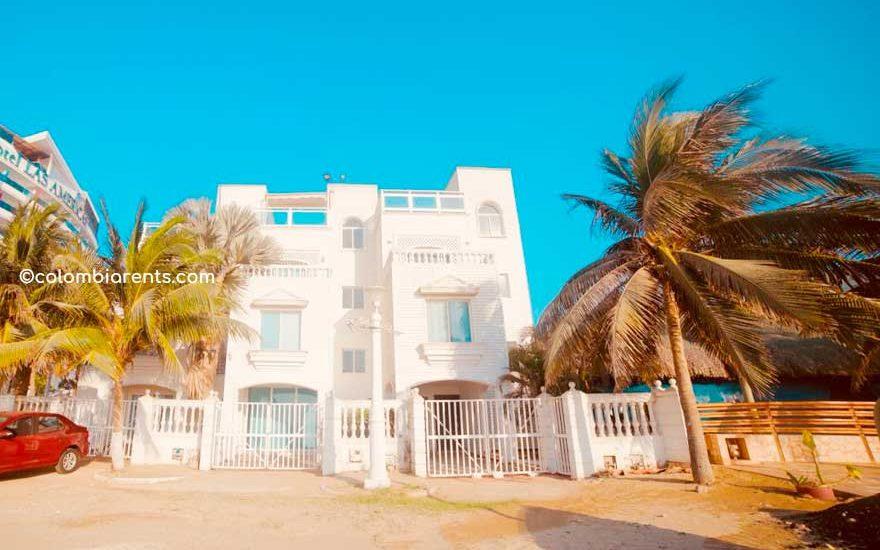 Cartagena Casas Frente a el Mar