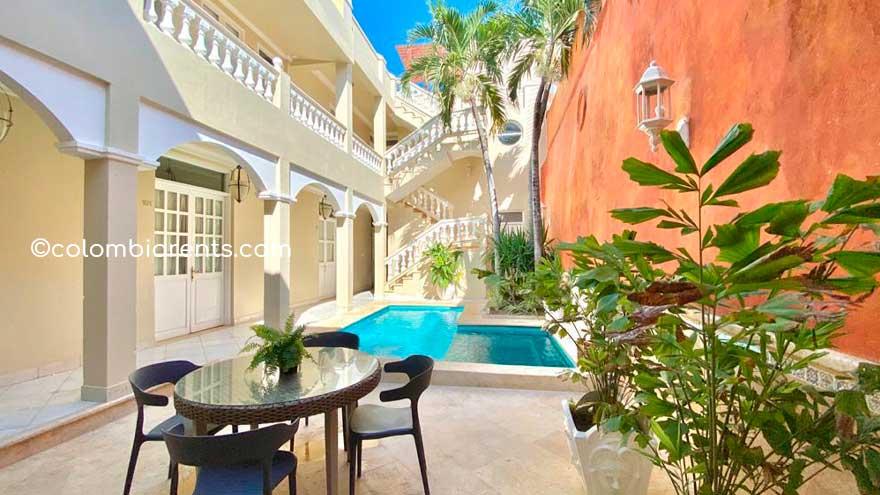 Mansión en alquiler en Cartagena Colombia