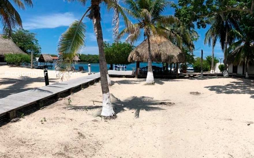 Isla con Playa Privada Cartagena de Indias