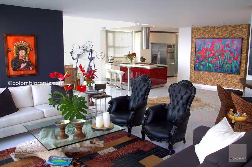 Apartamento Bocagrande Bahía 002
