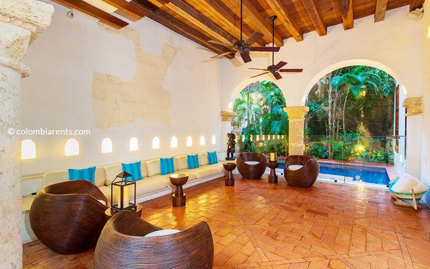 Arriendo Casa Centro Amurallado Cartagena