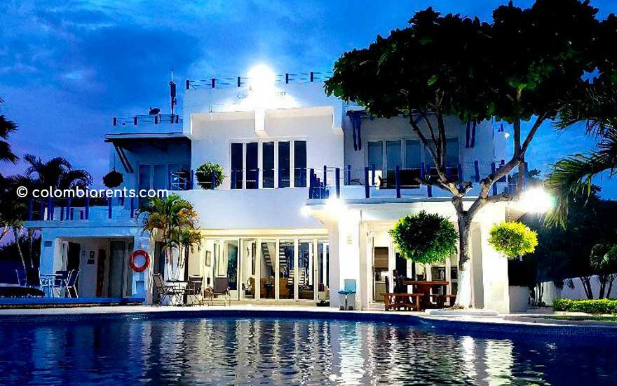 Alquiler Casa Punta Canoas Cartagena