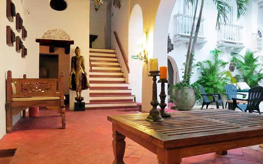Casa Colonial Ciudad Vieja Cartagena