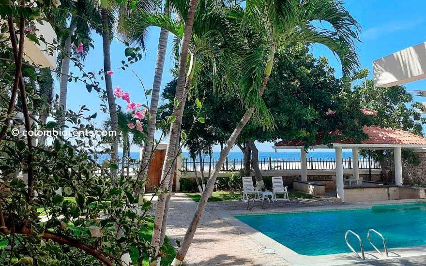 Casa rente a la playa en Santa Marta